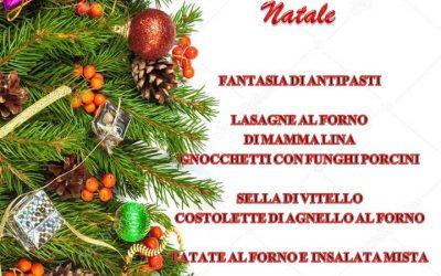 Da Santuccio Menù Speciale di Natale